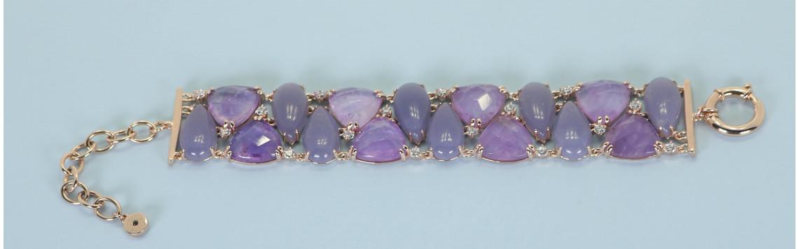 Pulseras y brazaletes de infinitas formas, joyería tienda online I Madrid 68